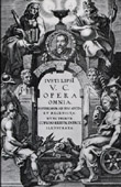 Book Frontispiece - Arbeten av Justus Lipsius - 1637 (Peter Paul Rubens)