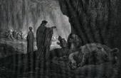 Dante's Hell 12 - Gustave Doré - The Divine Comedy - The Cerberus