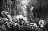 Dante's Hell 15 - Gustave Dor� - The Divine Comedy - Archangel - The Gates of Hell