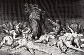 Dante's Hell 31 - Gustave Doré - The Divine Comedy - The Damned - Art Nude
