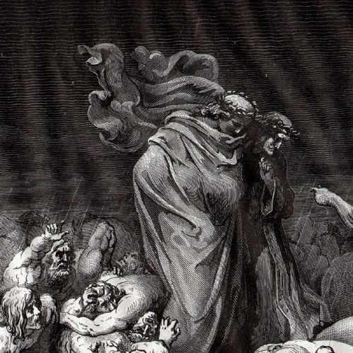 Resultado de imagen de condenados infierno de dante