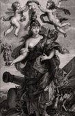 Anges - Mythologie - Marie de Médicis en Minerve (Peter Paul Rubens)