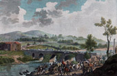 Retreat of the Prussian Army vs French Army - Rhine - Pont de Nodin - French Revolutionary Wars - 1792