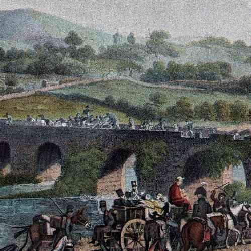 Ritirata dell esercito prussiano vs esercito francese reno pont de