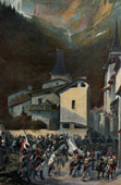 Piedmontese Army vs French Army - Kellermann - Storming of Moutiers - French Revolutionary Wars - 1793