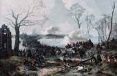 Prussian Army vs French Army - Holland - Storming of the Island Bommelerwaard - French Revolutionary Wars - 1794