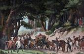 Austrian Army vs French Army - Body of Marceau Returned by the Austrians - Germany - Neuwied - French Revolutionary Wars - 1796