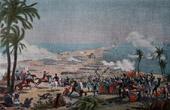 Napoleonic Campaign in Egypt - Ottoman Empire - Battle of Aboukir Bay or Battle of the Nile - Napoleon Bonaparte - Napoleonic Wars - 1799