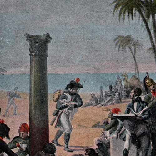 Stampe antiche campagna d 39 egitto impero ottomano l for Stampe di campagna francese