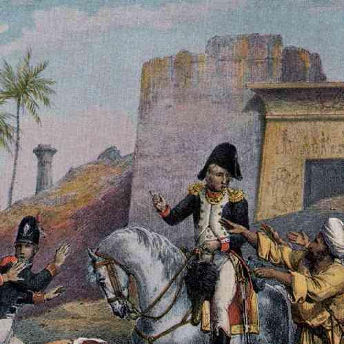 Stampe antiche stampa di campagna d 39 egitto impero for Stampe di campagna francese