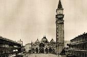St Mark's Basilica - Piazza San Marco - St Mark's Square - St Mark's Campanile - Venice (Italy)
