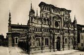 Certosa di Pavia - Charterhouse of Pavia - Monastery - Portal by Benedetto Briosco - Cristoforo Mantegazza - Fresco by Bergognone  (Italy)