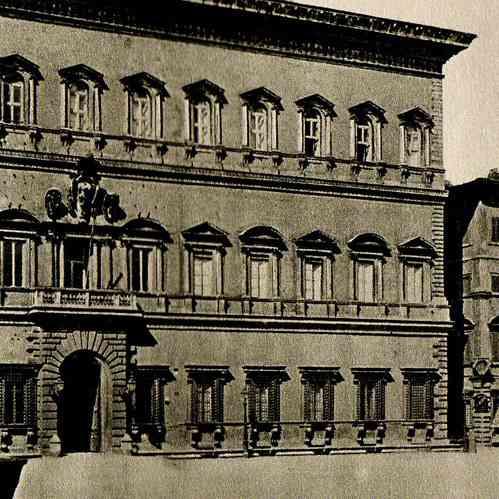 gravures anciennes palais farn se rome haute renaissance antonio da sangallo le jeune. Black Bedroom Furniture Sets. Home Design Ideas