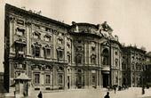 Palazzo Carignano in Turin - Baroque Fa�ade by Guarino Guarini - Frescoes by Stefano Legnani (Italy)