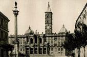 Papal Basilica of Saint Mary Major in Rome - Ferdinando Fuga - Marian Column by Carlo Maderno (Italy)