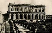 Villa Albani in Rome - Cardinal Alessandro Albani - Plan de Carlo Marchionni - Caryatides (Italy)