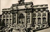 Trevi Fountain - Nicola Salvi - Niccol� Salvi - Triumphal Arch - Giant Order of Corinthian Pilasters - Neptune (Italy)