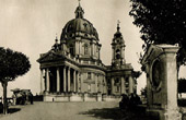Basilica of Superga - Vicinity of Turin - Filippo Juvarra - Late Baroque - Dome - Bell Tower - Corinthian Columns (Italy)