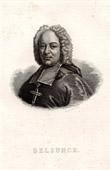 Portrait of Belsunce (1671-1755) - Henri François Xavier de Belsunce Castelmoron - Evêque de Marseille durant la Peste de 1720