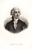 Portrait of Lavoisier - Antoine Laurent de Lavoisier (1743-1794)