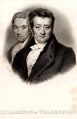 Portrait of Thomas Clarkson (1760-1846) and William Wilberforce (1759-1833)