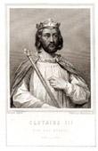 Portrait of Chlothar III (652-673)