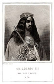 Portrait of Childeric III (vers 714-755)