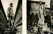 Italian Sculpture - Hercules and Cacus (Baccio Bandinelli) - Fountain of Neptune (Bartolomeo Ammannati)