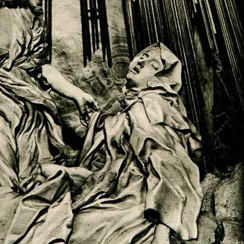 Heliograbado 1920 Escultura Italiana Extasis De Santa Teresa Gian Lorenzo Bernini