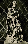 Italian Sculpture - Madonna and Jesus Child (Gian Lorenzo Bernini) - Notre Dame de Paris