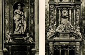 Italian Sculpture - Tombs - Bartolomeo Corsini (Camillo Rusconi) - Bolognetti Family (Francesco Cavallini)