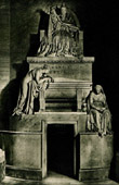Italian Sculpture - Tomb of Pope Clement XIV (Antonio Canova)