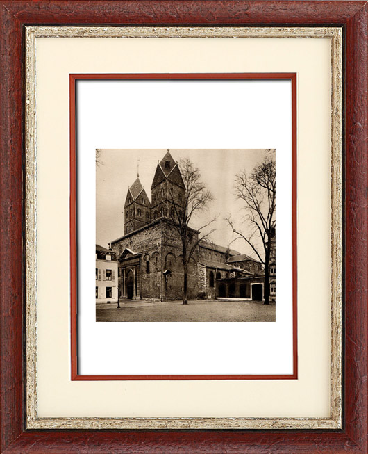 Architettura in belgio - chiesa saint barthélémy a liegi