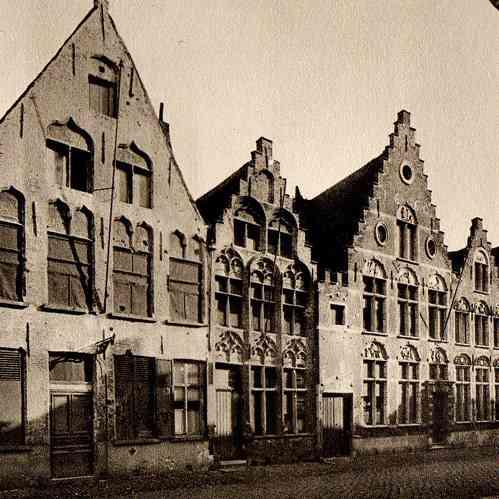 Gravures anciennes architecture en belgique maison de for Architecture 17eme siecle