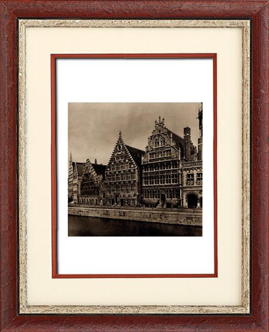 Gravures anciennes architecture en belgique maison des for Architecture 17eme siecle