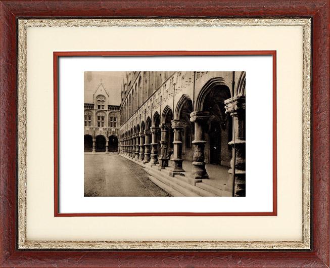 Gravures anciennes architecture en belgique palais des for Miroir des princes