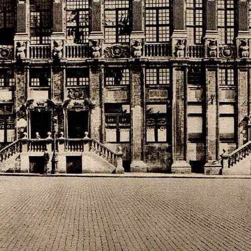 alte stiche belgisch architektur haus der herz ge aus. Black Bedroom Furniture Sets. Home Design Ideas