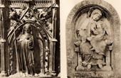 Belgian Sculpture - Shrine of Gertrude of Nivelles - Virgin Mary of Dom Rupert