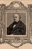Portrait - French Academy - Historian - Charles de Viel Castel - Charles Louis-Gaspard Gabriel de Salviac