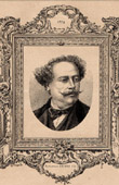 Portrait - French Academy - Author - Alexandre Dumas fils