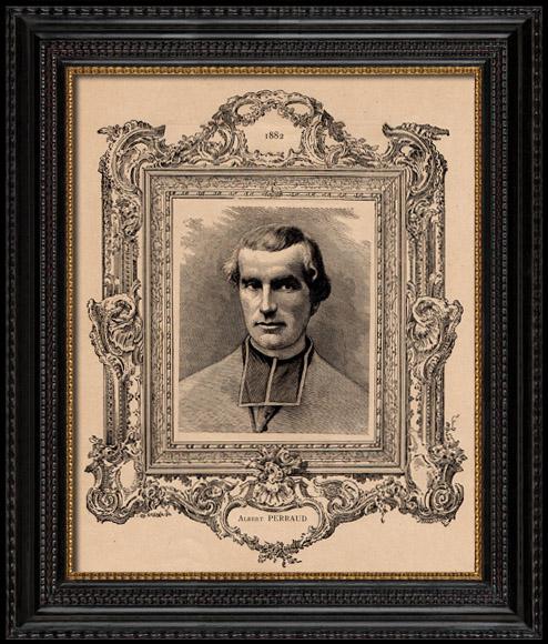 Portrait - Académie Française - Historien - Prêtre - Adolphe Perraud
