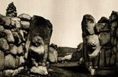 Kunst Alt Westasiens - Löwen Tor zu Boğazkale - Anatolien