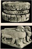 Kunst Alt Westasiens - Kolonnaden von Zendjirli Palast - Syrien