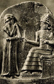 Art of the Ancient Occidental Asia - Hammurabi King of Babylon - Code of Hammurabi