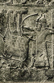 Art of the Ancient Occidental Asia - Assyrian Relief of Tiglath Pileser III Besieging a Town - Ashurnasirpal