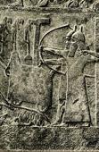 Art of the Ancient Occidental Asia - Assyrian Relief of Tiglath Pileser III Besieging a Town - Ashurnasirpal