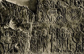 Art of the Ancient Occidental Asia - Deportation of the Population - Relief comes from the Palace of the Assyrian King Ashurbanipal at Nineveh