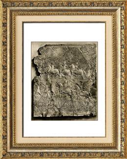 Arte del Asia Occidental Antiguo - Jinetes de Ashurnasirpal II Rey de Asiria