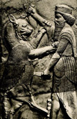 Art of the Ancient Occidental Asia - The King of Persia Fighting against a Monster - 5th Century BC