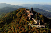 Landscape of Alsace - France - Castle - Ch�teau du Haut-Koenigsbourg